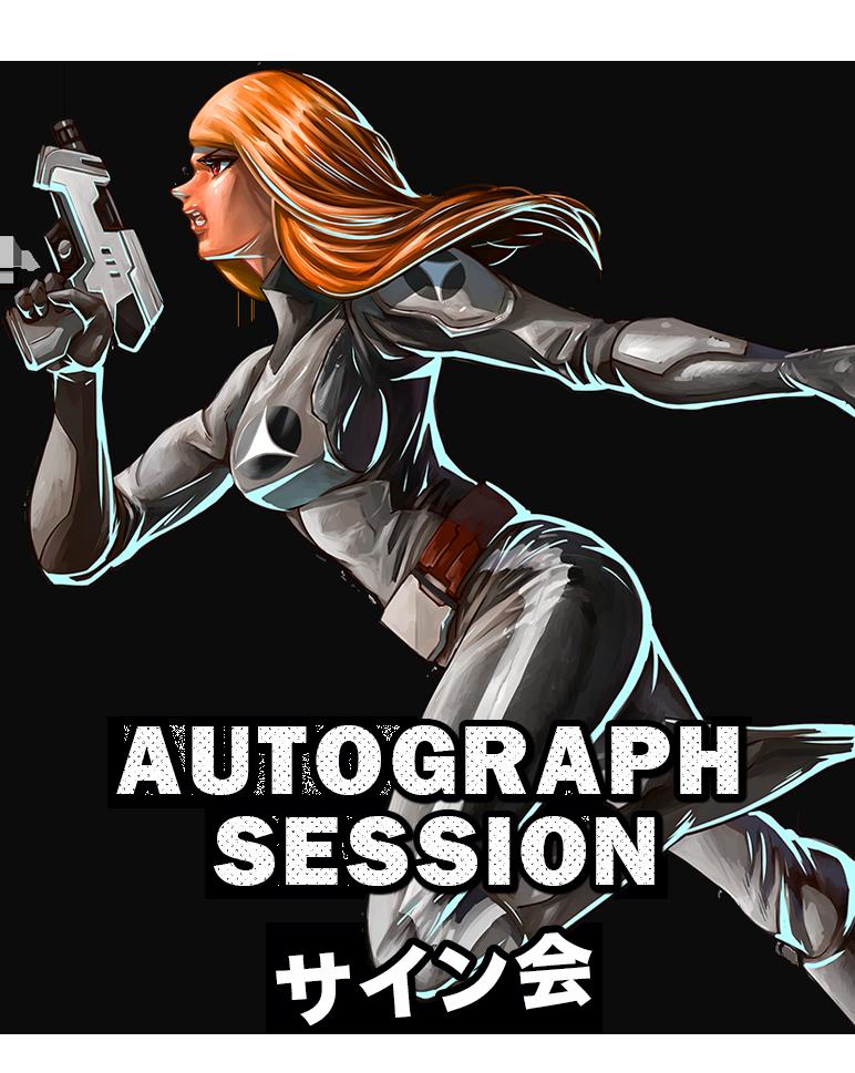 AUTOGRAPH SESSION サイン会