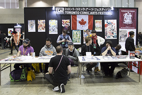 東京コミコン2019 アーティストアレイ
