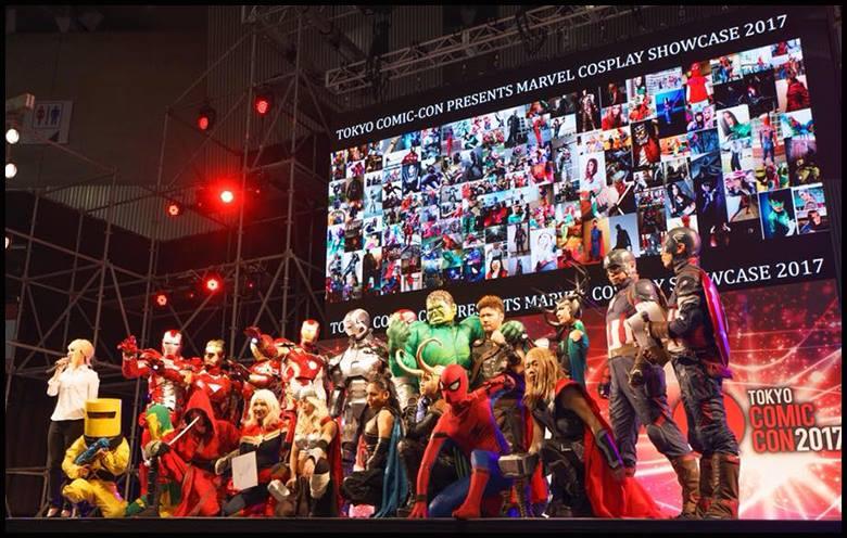 TOKYO COMIC CON 2019 MARVEL COSPLAY SHOWCASE | 東京コミコン2019