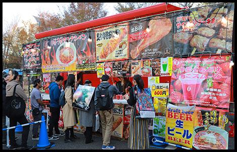 TOKYO COMIC CON 2019 FOOD COURT