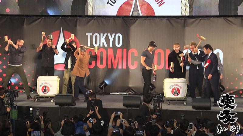 東京コミコン オープニングセレモニーに関して