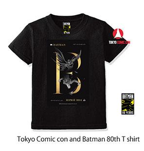 バットマン80周年コラボTシャツ<br>(バットマン&ジョーカー)