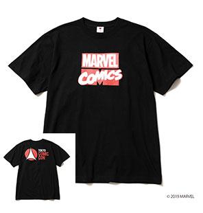 MARVEL COMICS TEE BLACK